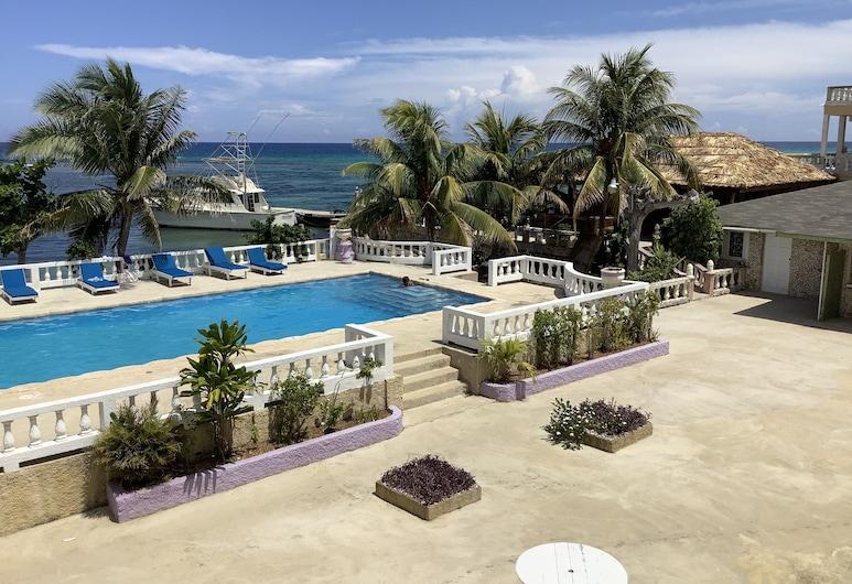 Cariblue Beach Hotel and Scuba Diving Resort, Montego Bay, NOW Ocean View Superior Room, Utsikt fra gjesterommet