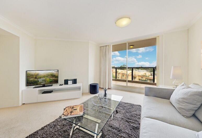Wyndel Apartments - Shoremark, St. Leonards, Apartamento, 1 habitación, Sala de estar