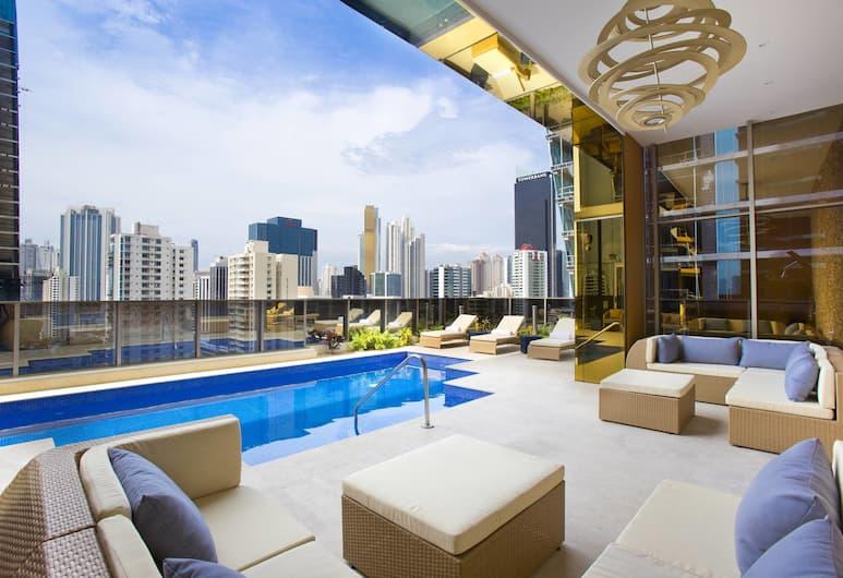 Global Hotel Panama, Panama City, Buitenzwembad