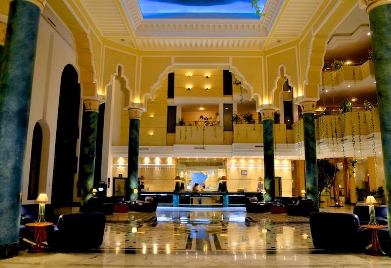 Royal Garden Palace, Djerba Midun, Interior de la entrada