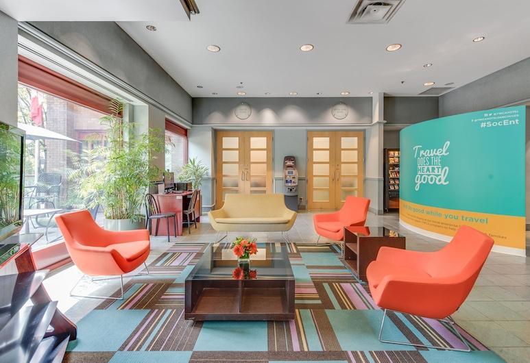 YWCA Hotel, Vancouver, Área de estar (saguão)