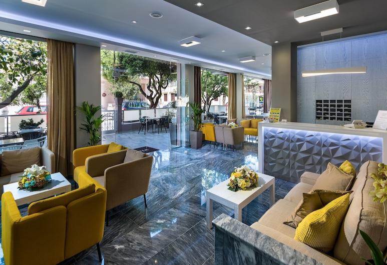 올림피아 호텔, 코스, 로비 좌석 공간