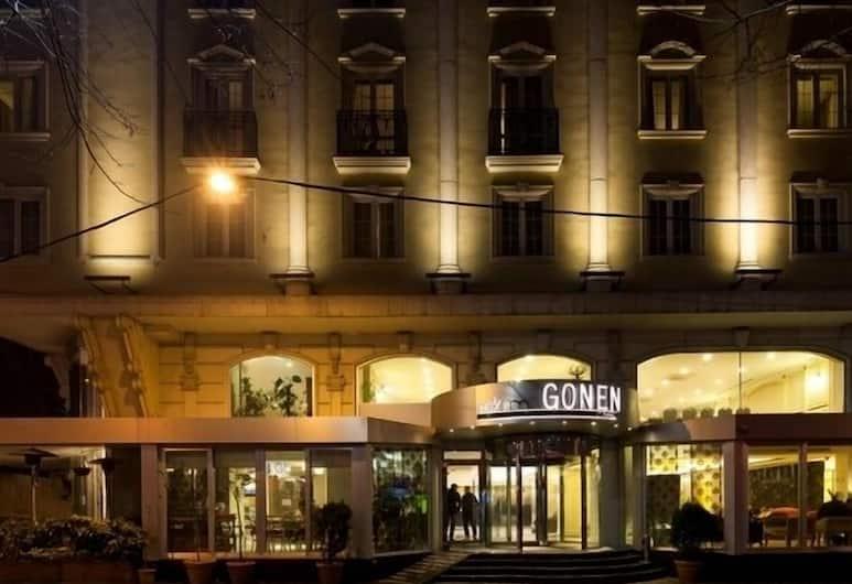Taksim Gonen Hotel, Istanbul, Hotellfasad - kväll
