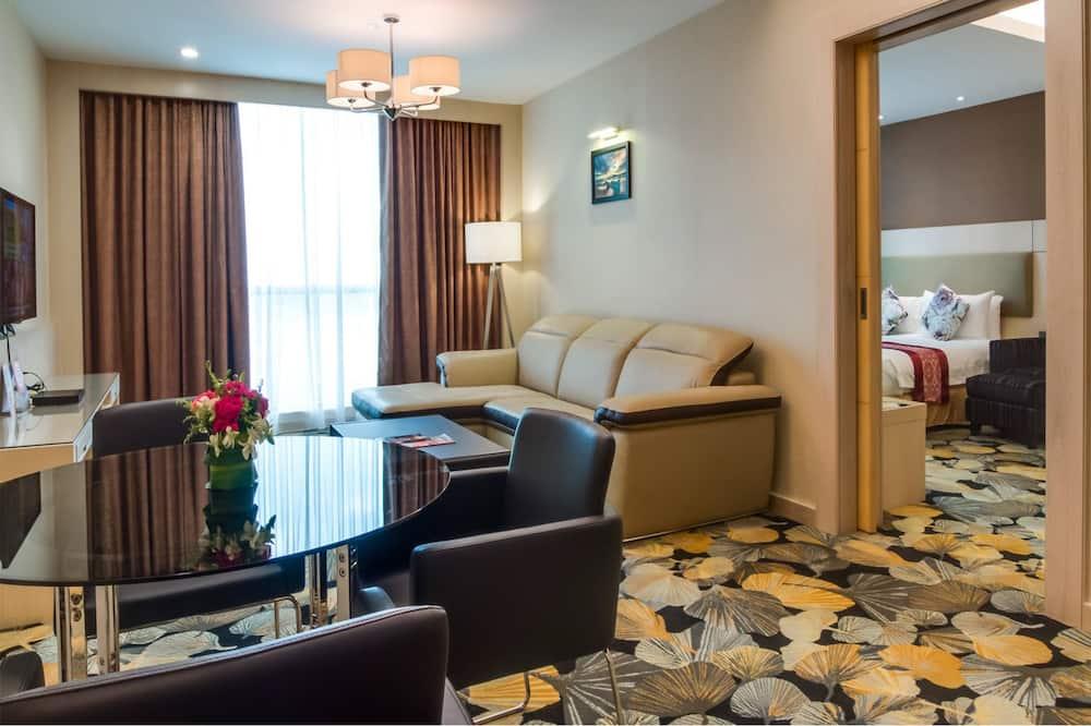 Štúdiový apartmán typu Executive, 1 extra veľké dvojlôžko - Obývacie priestory