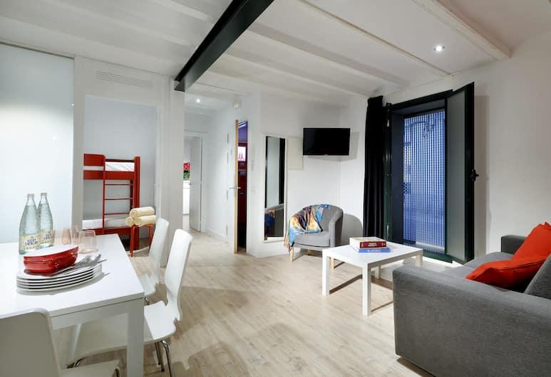Barnapartments Cool Gracia, Барселона, Апартаменты базового типа, Гостиная