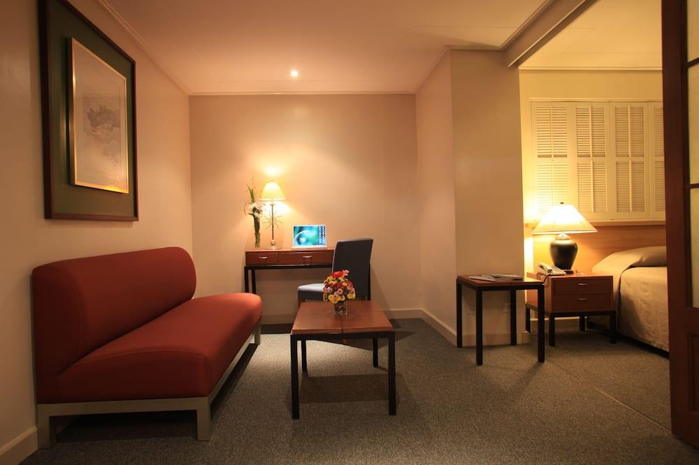 Apartament  z 1 sypialnią - Powierzchnia mieszkalna