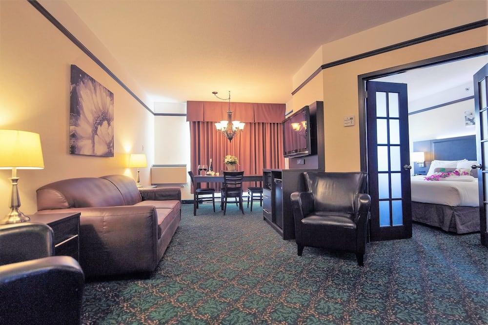 Luksusa numurs, 1 divguļamā karaļa gulta, burbuļvanna - Dzīvojamā zona