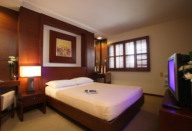 Amorsolo Mansion, Makati, Two Bedroom Executive Room, View from room