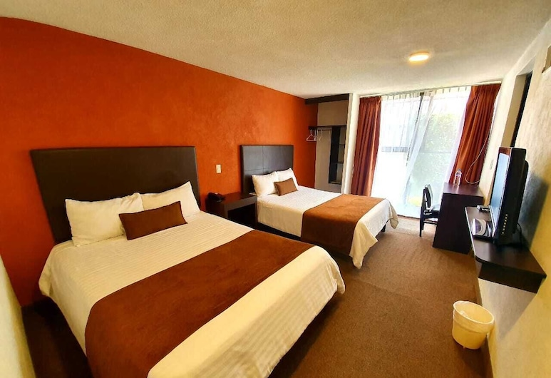 Hotel Plaza Morelos, Toluca, Double Room, Guest Room
