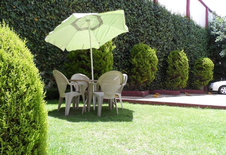Hotel Plaza Morelos, Toluca, Zahrada