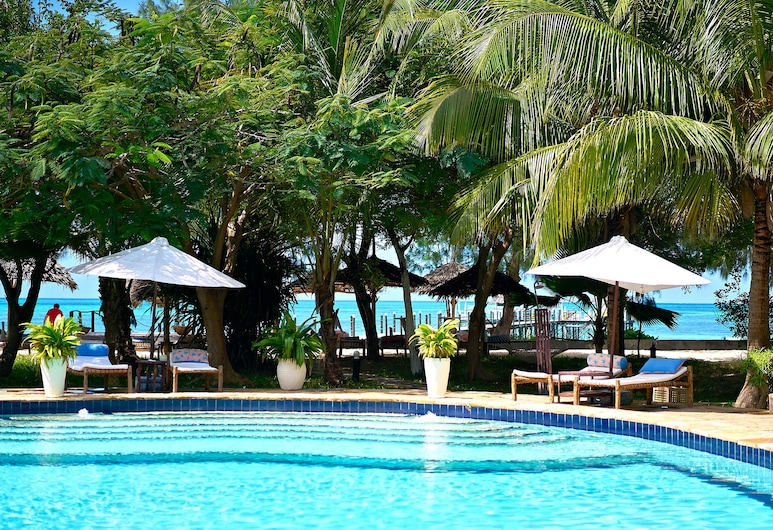Spice Island Hotel & Resort, Jambiani, Deluxe Double Room, Ausblick vom Zimmer