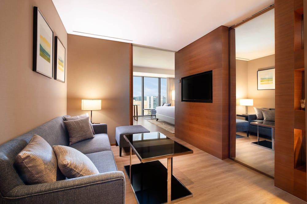Junior Suite, 1 Bedroom, Non Smoking (Executive Lounge Access) - Living Area