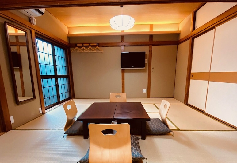 Ryokan Sansuiso, โตเกียว, ห้องทราดิชันนัล, ปลอดบุหรี่, ห้องน้ำรวม (Japanese Style Family), ห้องพัก