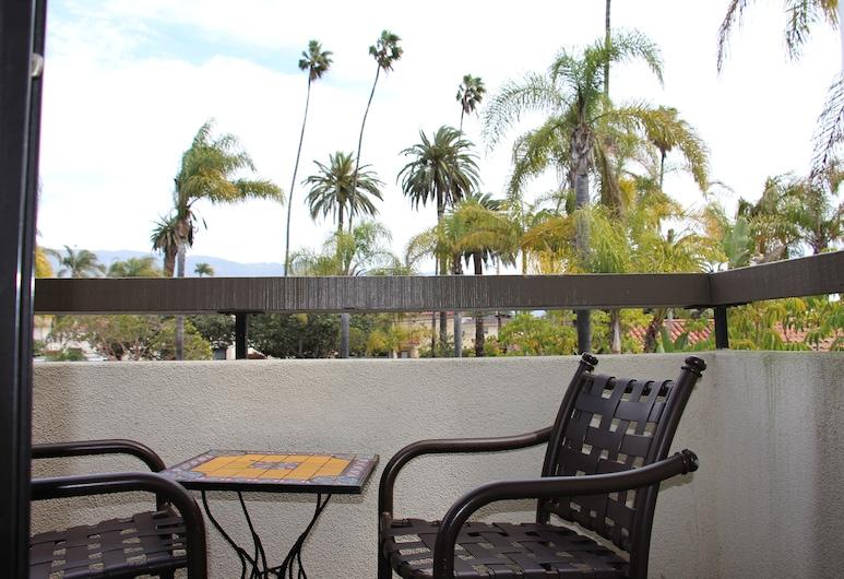 Franciscan Inn & Suites, Santa Barbara, Quarto luxo, 1 cama King, Sacada, Varanda