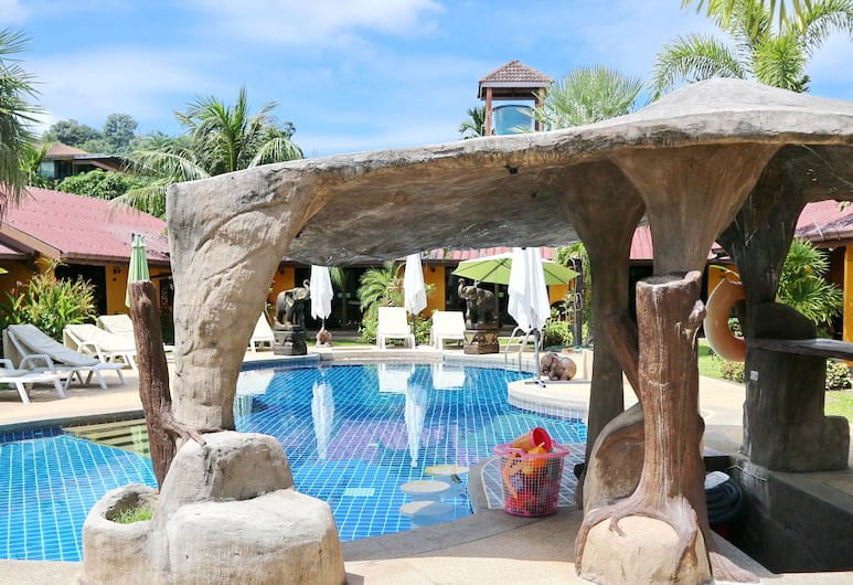 Kamala Tropical Garden, Kamala, Kültéri medence