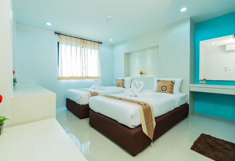 Le Touche', Bangkok, Deluxe Twin Room, Guest Room