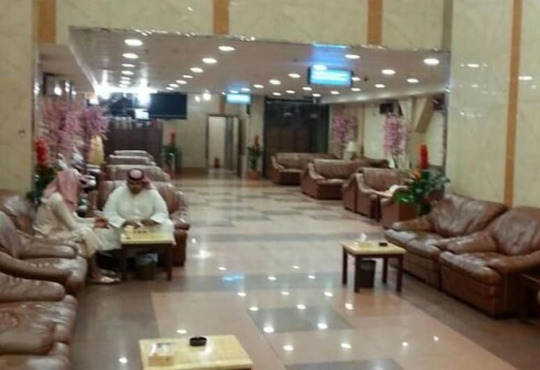 Al Aseel Ajyad, Mecka, Sittområde i lobbyn
