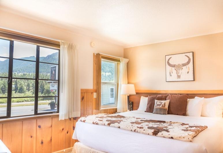 Alpine Trail Ridge Inn, Estes Park, Luxury-Suite, 1King-Bett und Schlafsofa, Zimmer