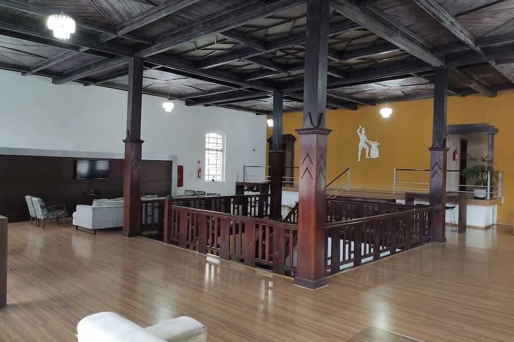 Viešbučio interjeras