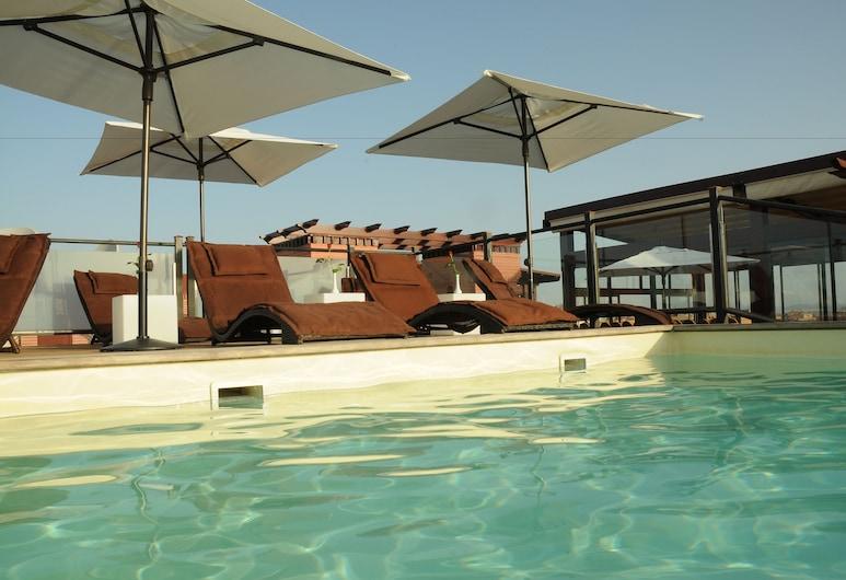 Almas Hotel, Марракеш, Басейн на даху