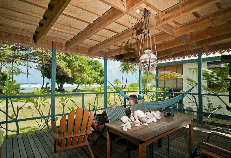 Cocos Castaway, West Island, Terrace/Patio