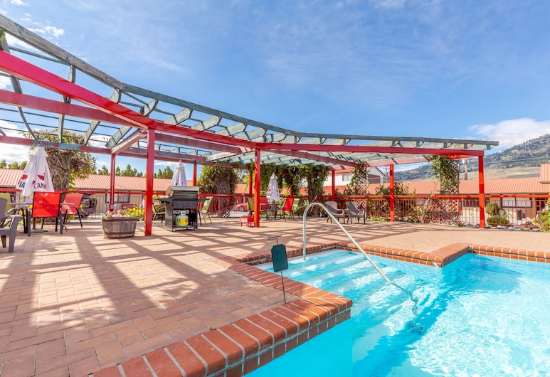 Westridge Motor Inn, Osoyoos, Taras/patio