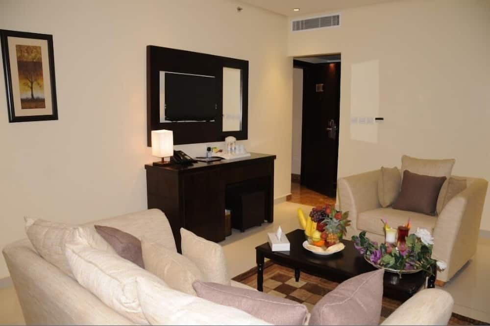 套房, 2 间卧室 - 起居室