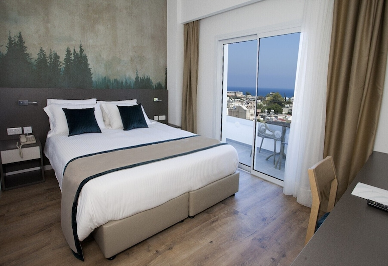 Pefkos Hotel, Limassol, Superior Double Room, Guest Room
