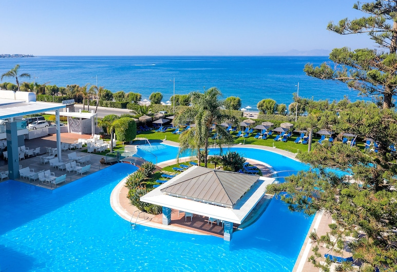 Oceanis Hotel - All inclusive, Rhodes, Letecký pohled