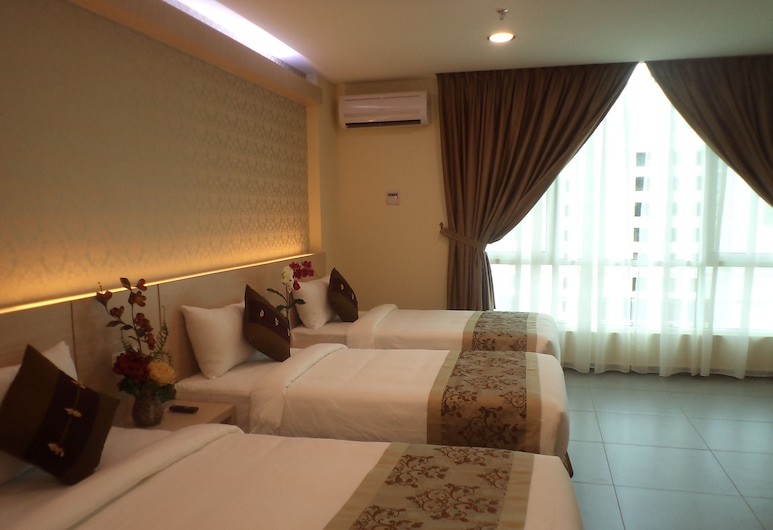 Midcity Hotel Melaka, Malacca City, Family Suite, Guest Room