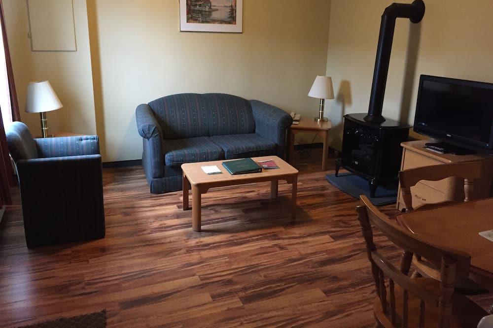 Rekreační domek, 2 dvojlůžka - Obývací pokoj