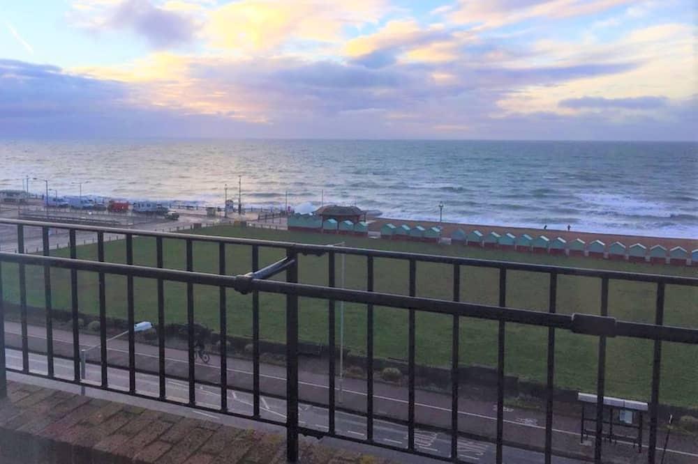 Executive-værelse - 1 dobbeltseng - terrasse - havudsigt - Strand-/havudsigt