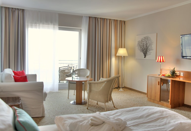 Mein Strandhaus, Timmendorfer Strand, Standard Double Room, Partial Sea View, Guest Room