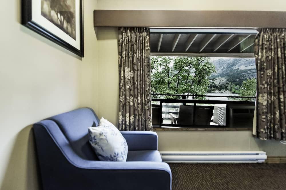 Pokoj typu Classic, 2 dvojlůžka (180 cm), u jezera - Obývací prostor