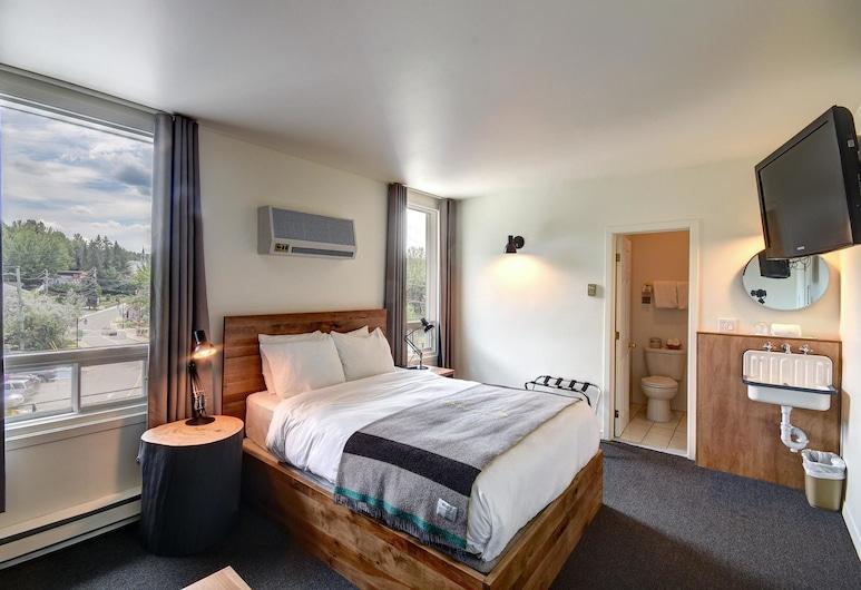 Hotel Mont-Tremblant, Mont-Tremblant, Chambre, 1 grand lit et 1 canapé-lit, Chambre