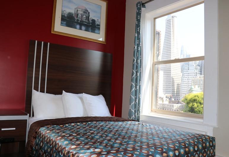 Europa Hotel, San Francisco, Standardzimmer, 1 Doppelbett (Private Bathroom ), Zimmer