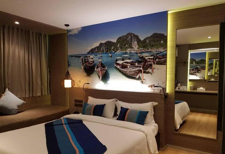 Bizotel Premier Hotel & Residence, Bangkok, Deluxe Oda, Oda