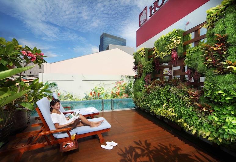 Hotel Clover The Arts, Singapūra, Terase/iekšējais pagalms