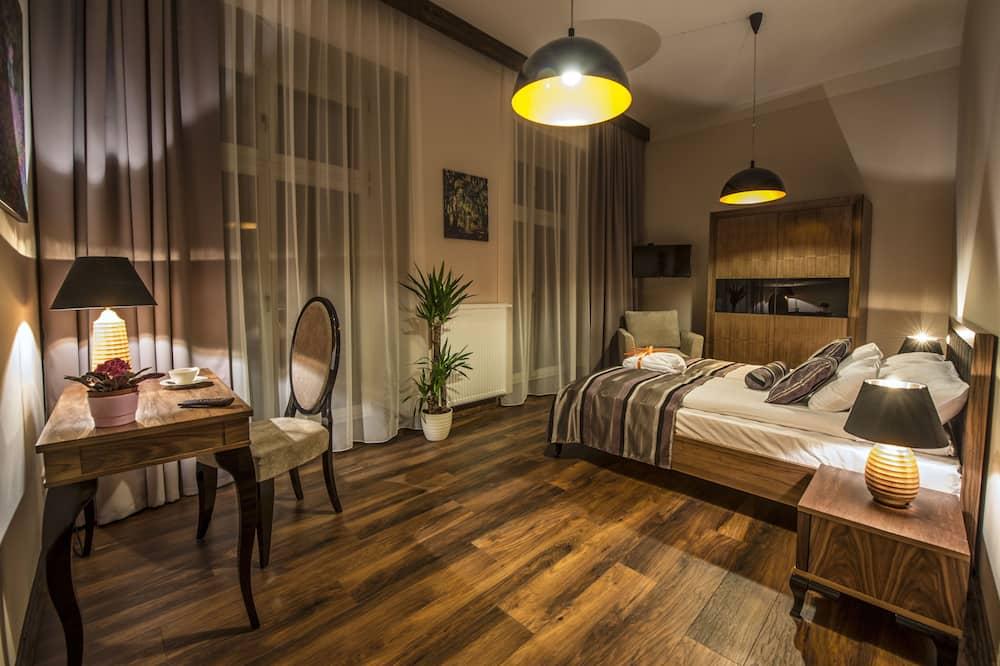 Executive-Apartment, Balkon - Zimmer