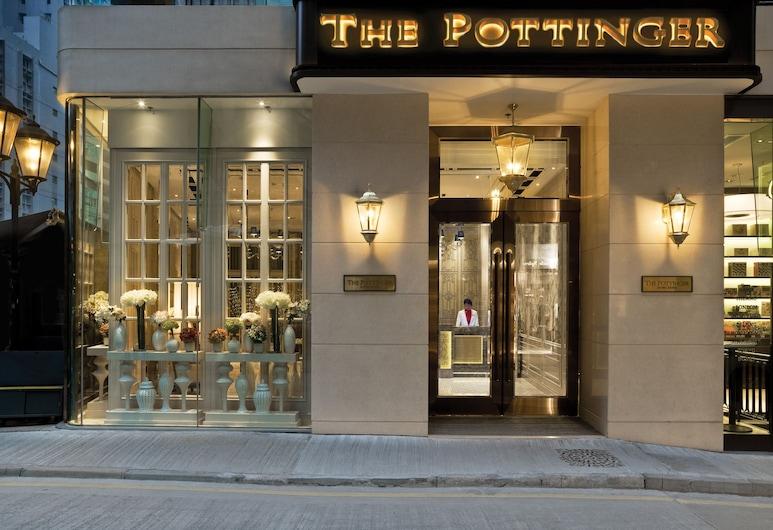 더 포팅거 홍콩, 홍콩, 호텔 정면