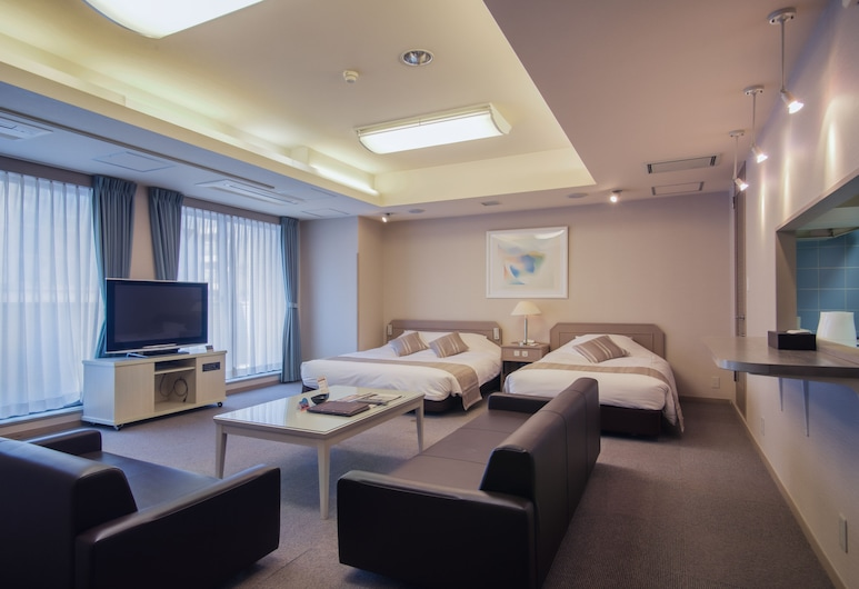 Osaka Hotel Live Artex, Osaka, Junior-Suite (2 beds & 3 futons for 5 people), Zimmer