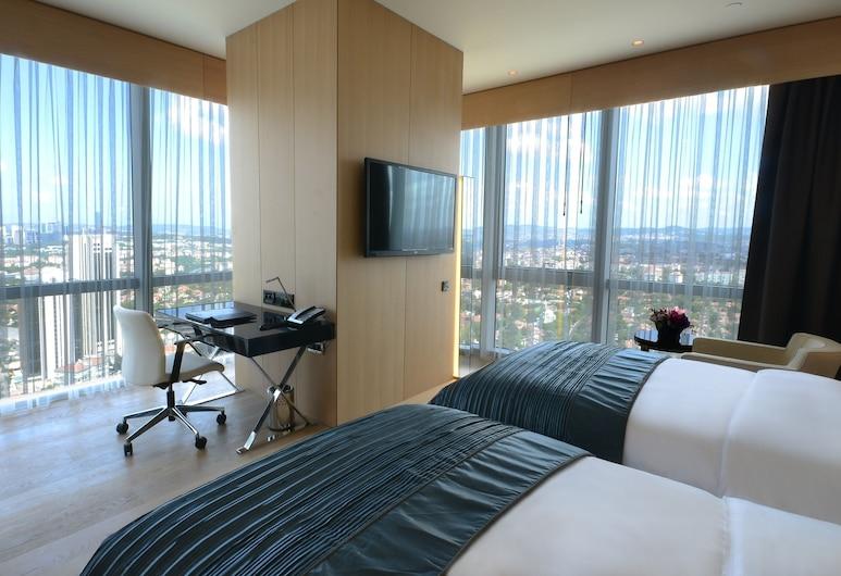 ウィンダム グランド イスタンブール レヴェント, イスタンブール, デラックス ルーム パーシャルシービュー, 部屋からの眺望