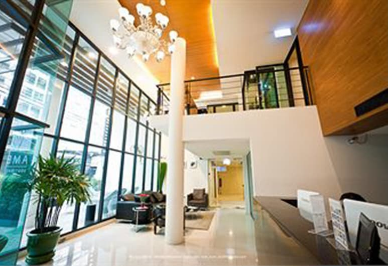 앰버 부티크 실롬 호텔, 방콕, 로비