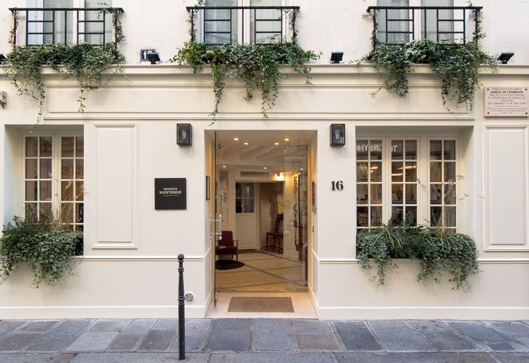Hôtel Monsieur Saintonge, Paris, Hotel Entrance
