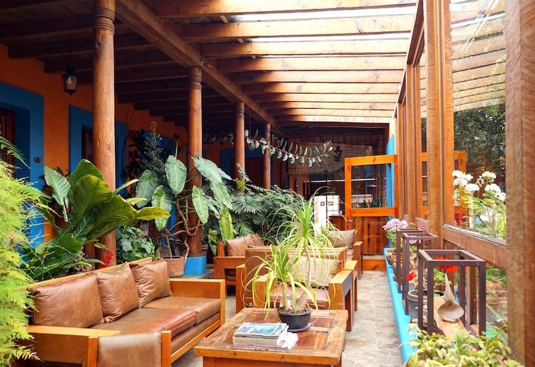 Hotel Posada El Paraiso, סאן כריסטובל דה לאס קסאס, אזור ישיבה בלובי