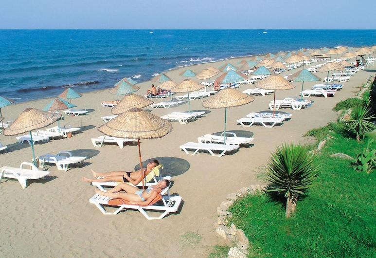 M.C Mahberi Beach Hotel – All Inclusive, Alanya, Praia