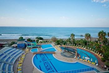 Alanya bölgesindeki M.C Beach Park Resort Hotel All Inclusive resmi