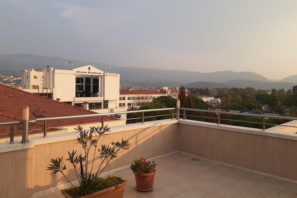 Deluxe Tek Kişilik Oda - Balkon Manzarası