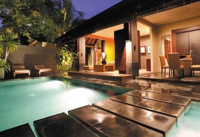 Ahimsa Estate, Seminyak, Villa, 1 camera da letto, piscina privata, Terrazza/Patio