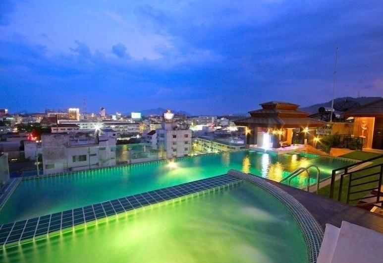 Chalelarn Hotel, Hua Hin, View from Hotel